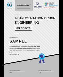 Smartbrains Instrumentation Certificate Smartbrains